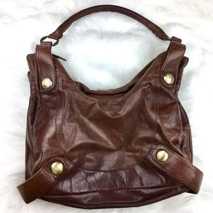 Latico | High Quality Soft Brown Leather Purse Bag